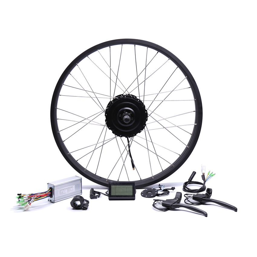 2017 Bike Kit Bicicleta Eletrica 48v500w Fat Rear Brushless Hub Motor Snow Conversion 20'' 26''electric Wheel eunorau 48v500w electric bicycle rear cassette hub motor 20 26 28 rim wheel ebike motor conversion kit