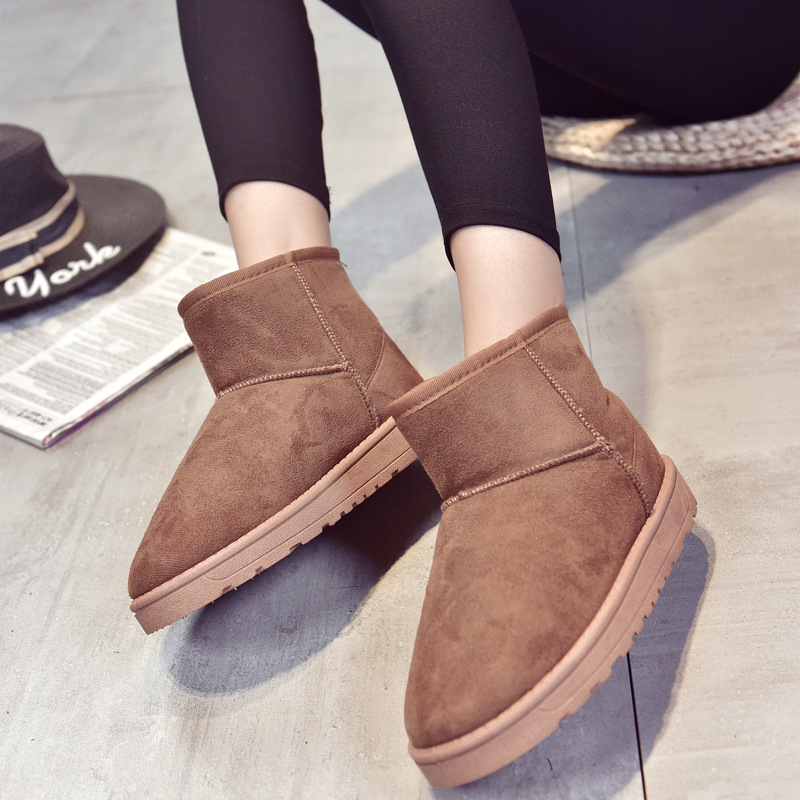 New style Snow boots solid ankle boots for women fashion women boots winter warm boots women