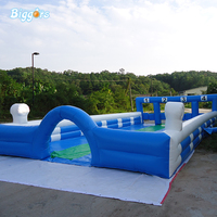 Inflatable football Billiards inflatable outdoor sport game arena for sale