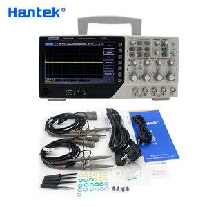Image 5 - Hantek DSO4084B Digital Oscilloscope 4 Channels 80MHZ Bandwidth Portable USB Osciloscopio Portatil +EXT+DVM+Auto Range Function