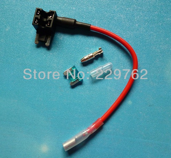 for safe and easy refitting car fuse cable adapter fuse tap mini blade fuse tap holder aliexpress com buy for safe and easy refitting,car fuse cable Online Car Wiring Diagrams at creativeand.co