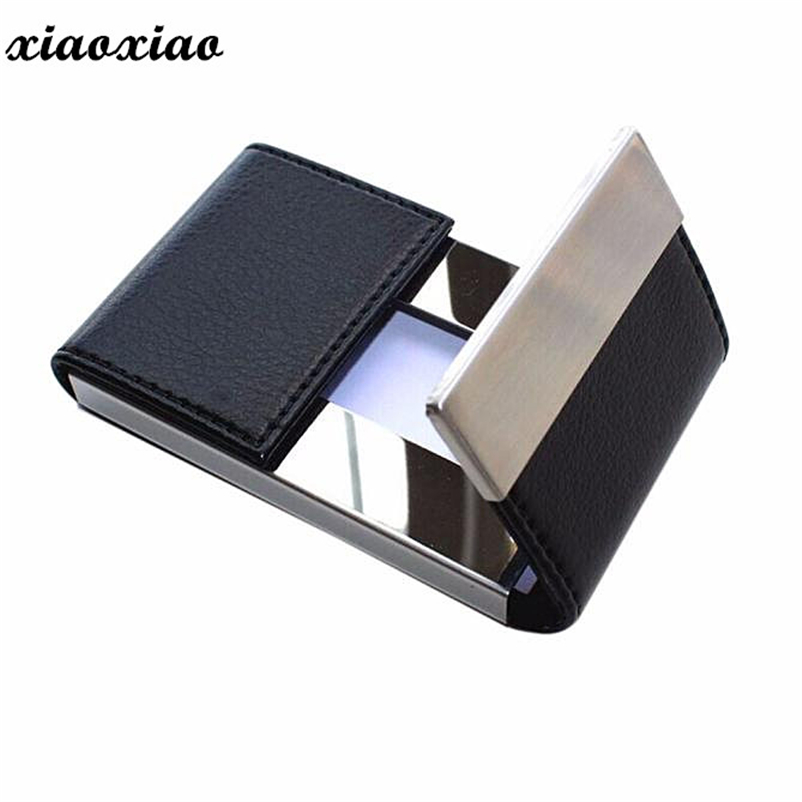 Unisex Card Holder Top Quality Credit Card Package Card Holder Double Open Business Card Case Titular de la tarjeta #1113 2017 new top brand pu thin business id credit card holder wallets pocket case bank credit card package case card box porte carte