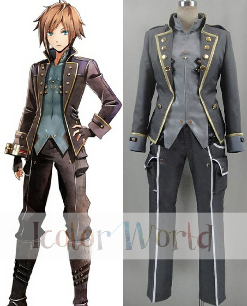 god eater 2 protagonist cosplay costume halloween costume-in game