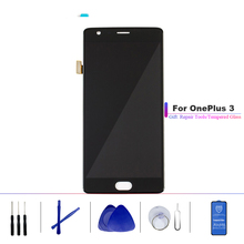 For Oneplus 3 Lcd Screen Oneplus 3T Display Screen Tested Screen With Frame Replacement For Oneplus 3T A3010 A3000 A3003 5.5inch