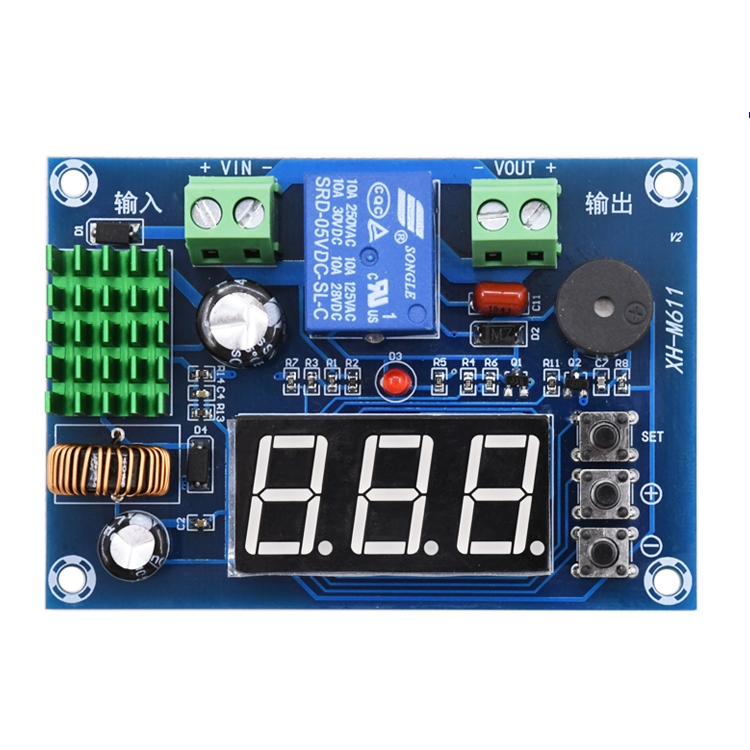 12V 24V 10A Automatic Battery Charging Controller Module Protection Board+Cover