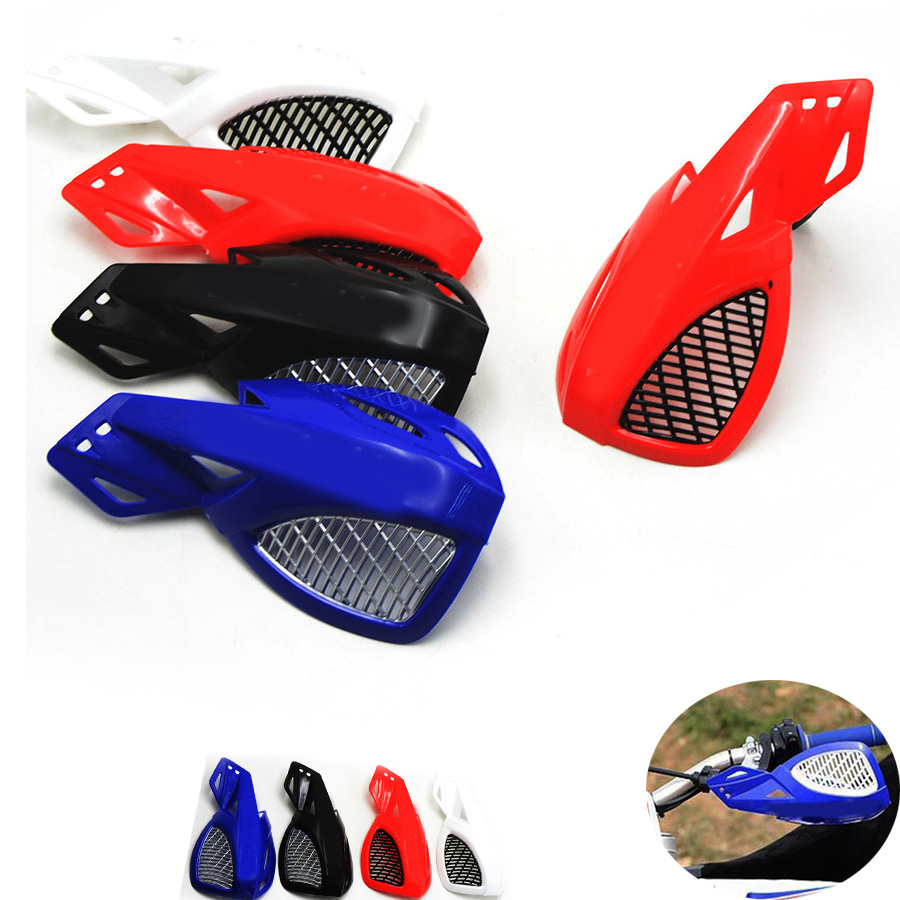 2 шт. мотоцикл рукавицы ручной гвардии защитные подходит мотоцикл мотокросс универсальный пластиковый 22 мм для Honda XR650L CRF250R CRF1000L кл