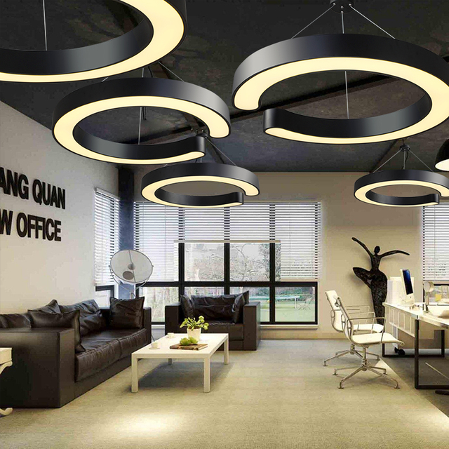 Kantoor verlichting LED moderne pednant lamp lantaarn studie ...