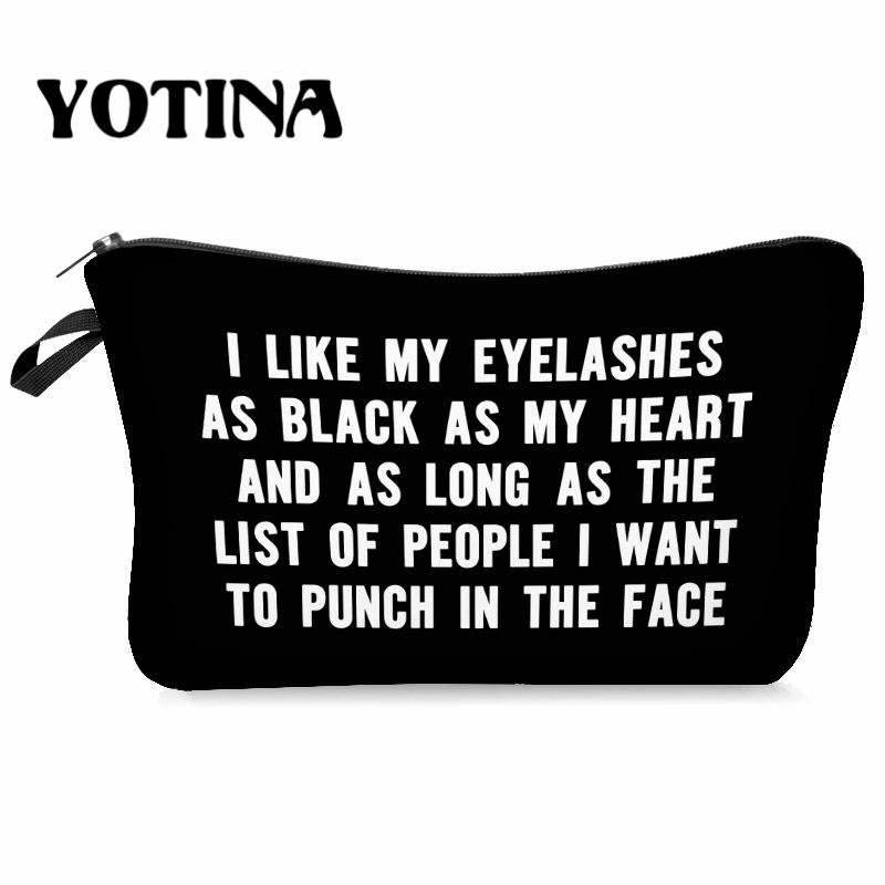 Yotina Women Makeup Bag Cosmetic Bag  MakeUp Organizer Toiletry Storage Zipper Travel Wash Pouch