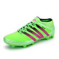 Kid S Soccer Shoes High Quality Athletic Training Long Spikes Football Boots Teenagers Indoor Soccer Boots