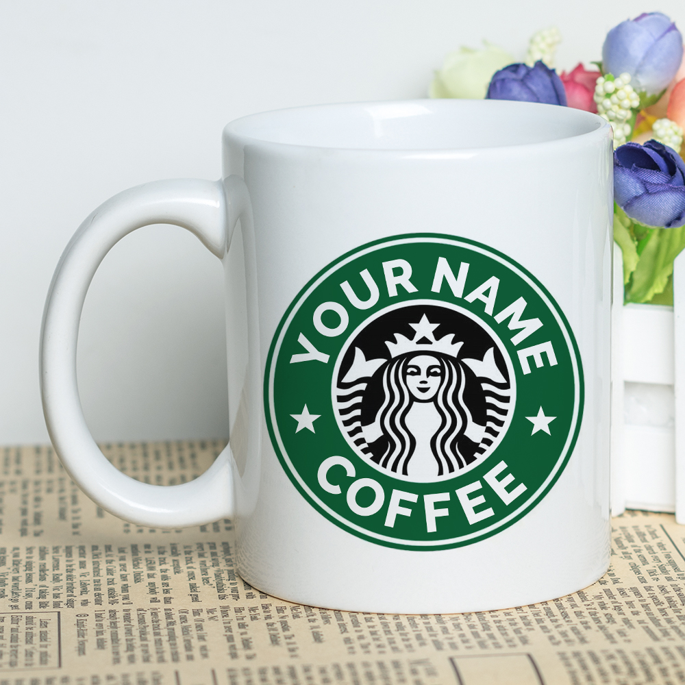 Special Discount Promotion Custom Name Coffee Cup Ceramic 330ml or Bone China 300ml Personalized Tea Mug