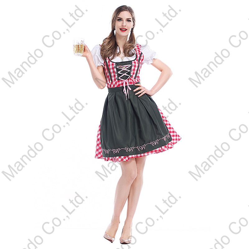 Oktoberfest Women wear Octoberfest Bavaria traditional beer Carnival party dress