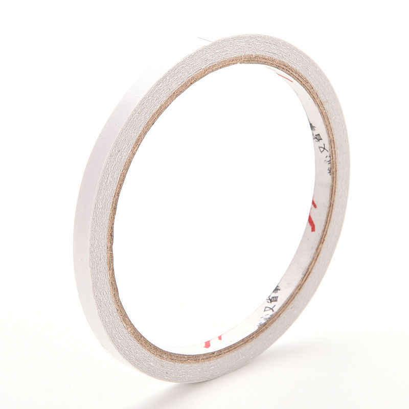 1 Pcs 6mm x 9 m Mạnh Đôi Sided Độ Bám Dính Tape Chú Ý Dính Mạnh Mẽ Tăng Gấp Đôi Phải Đối Mặt Với Cho Văn Phòng