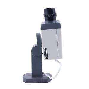 Image 4 - Dummy אבטחת LED מסתובב מצלמה תנועה הופעל אור סוללה כוח בית מזויף