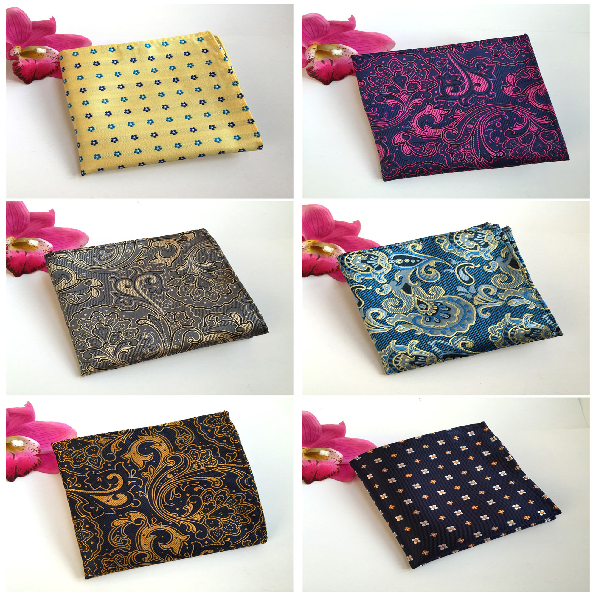 2020 High Quality Men's Business Handkerchief Pocket Towel Quality Simple And Simple Personality Fashion Decorative Pocket Towel