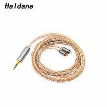 цена на Free Shipping Haldane DIY MMCX 2.5mm 1.2m Earphone Balanced Upgrade Cable For XBA-Z5/A3/A2/300AP Se535 SE846  SE315 SE215 UE900