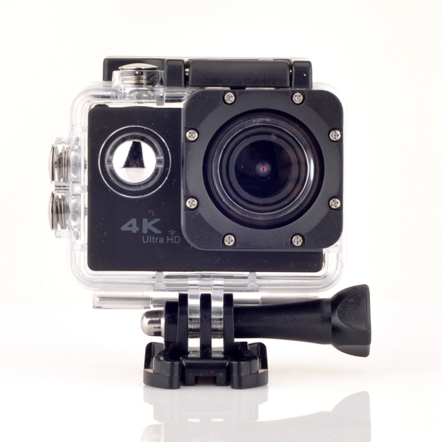 Новые Поступления Бесплатная Доставка F69 WI-FI Ultra HD Резвится Камера 2-дюймовый 4 К 1080 P (новатэк 96660) мульти-объектив водонепроницаемая камера