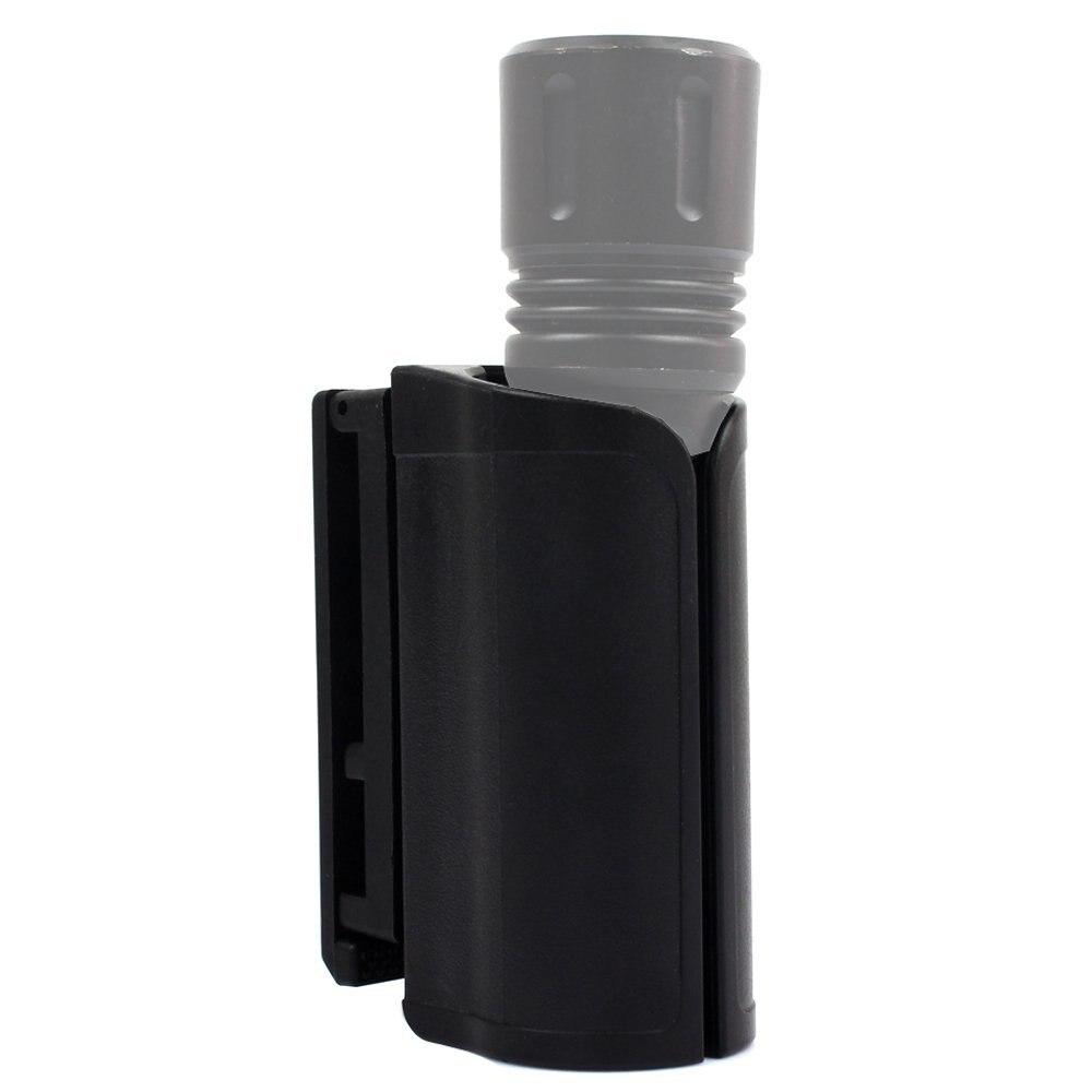 TTGTACTICAL Compact Light Holder, Polymer Baton Holder 16 Inch, Duty Flashlight Holder Belt Carry Case