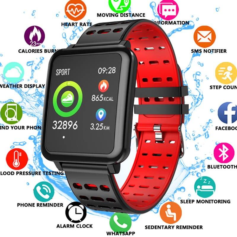 Q8 Smartwatch Bluetooth Contapassi Monitor di Frequenza Cardiaca Display A Colori Intelligente Orologio IP67 Impermeabile Dispositivo Indossabile Per Android/IOSQ8 Smartwatch Bluetooth Contapassi Monitor di Frequenza Cardiaca Display A Colori Intelligente Orologio IP67 Impermeabile Dispositivo Indossabile Per Android/IOS