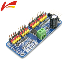 PCA9685 16 Channel 12-bit PWM/Servo Driver-I2C interface Module For Raspberry Pi Shield Module Servo Shield Diy Kit