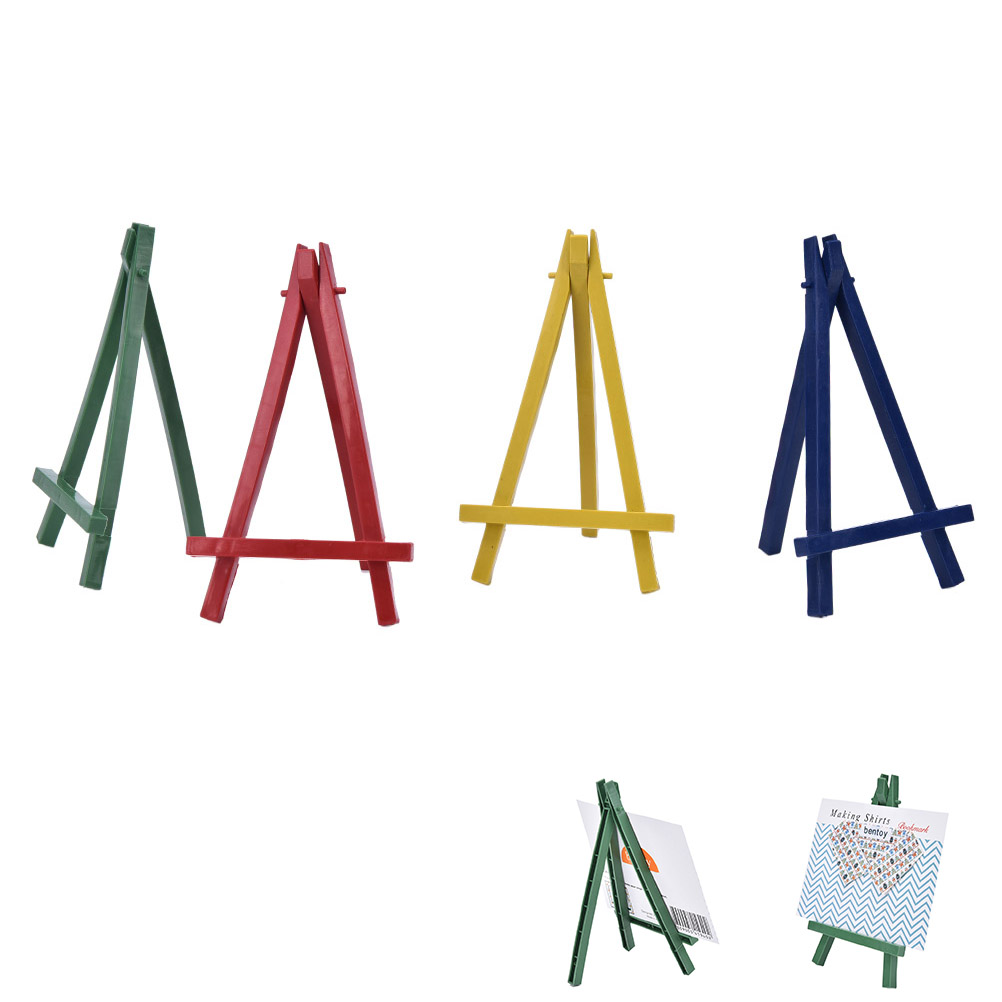 mini plastic artist easel wedding number place name card stand display holder frame cute desk decor