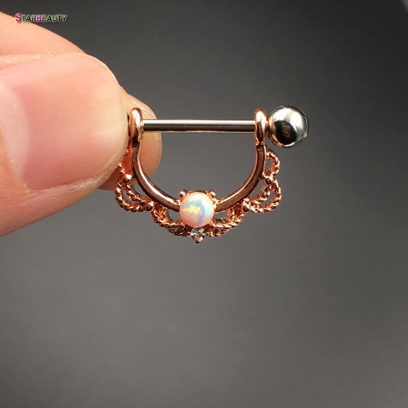 HTB1jHKoPVXXXXcvXpXXq6xXFXXXx Pretty White Opal Nose Ring Jewelry