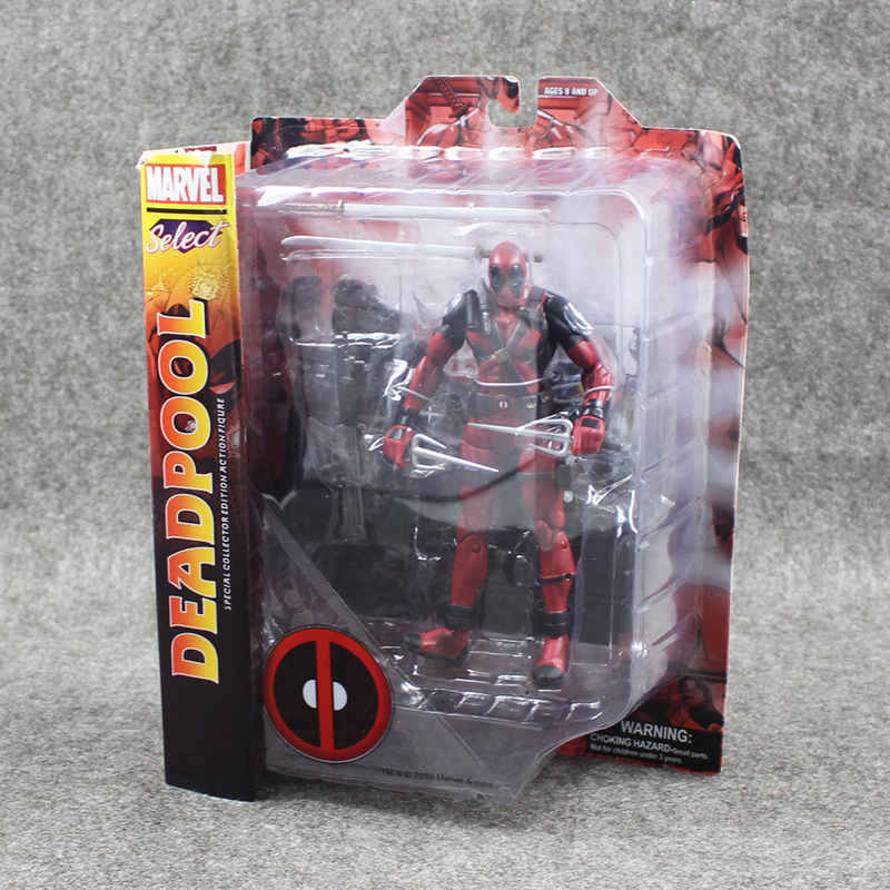 20cm New 2016 X-Men Deadpool PVC Assassin Ninja Model Action Figure Toys collection mobile Toy doll Movie gifts For Kids Boys цена