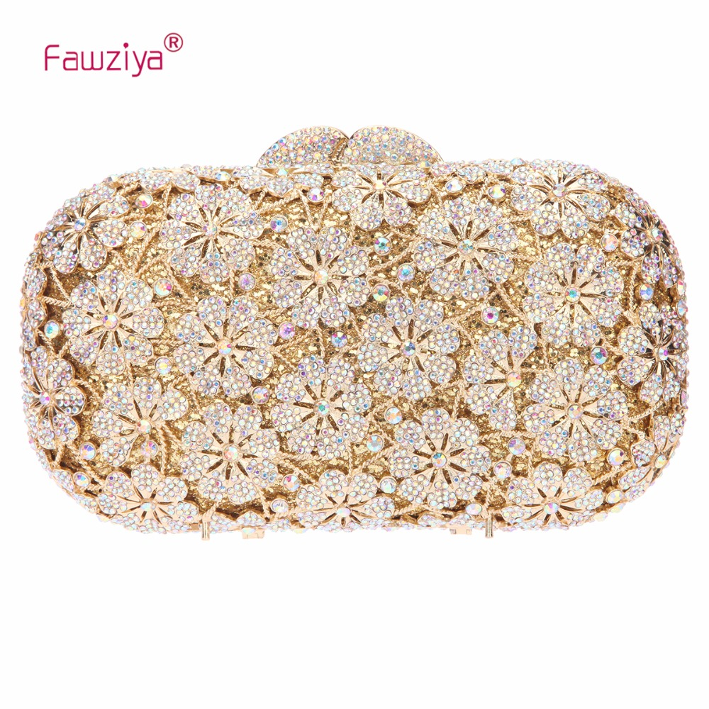 Fawziya Floral Evening Bag Clutch Purses For Women Clutches Party fawziya apple clutch purses for women rhinestone clutch evening bag