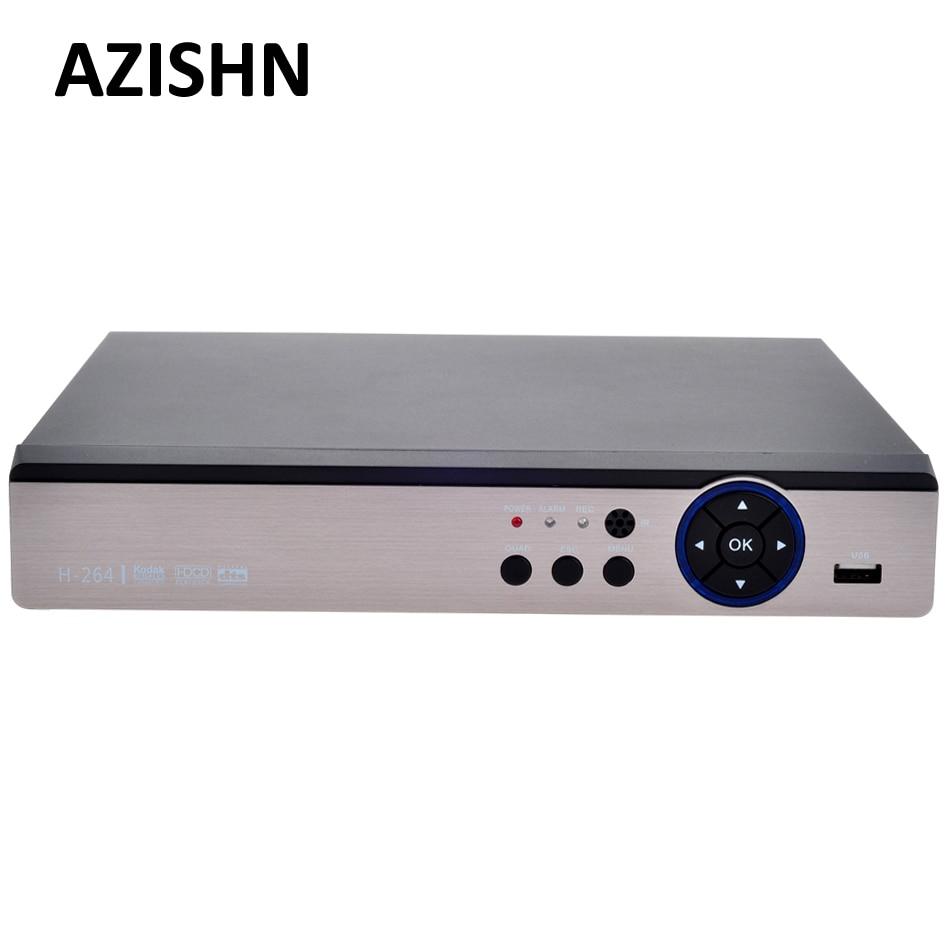 AZISHN FULL HD 5 IN 1 AHD/CVI/TVI/CVBS/NVR 4CH 4MP/Pure:16Ch 1080P Security Hybrid DVR VGA HDMI Video Recorder Onvif P2P AHD DVRAZISHN FULL HD 5 IN 1 AHD/CVI/TVI/CVBS/NVR 4CH 4MP/Pure:16Ch 1080P Security Hybrid DVR VGA HDMI Video Recorder Onvif P2P AHD DVR