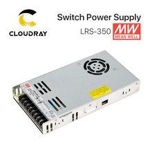 Meanwell LRS-350 potencia de conmutación fuente de alimentación de 12V 24V 36V 48V 350W Original MW taiwán marca LRS-350-24