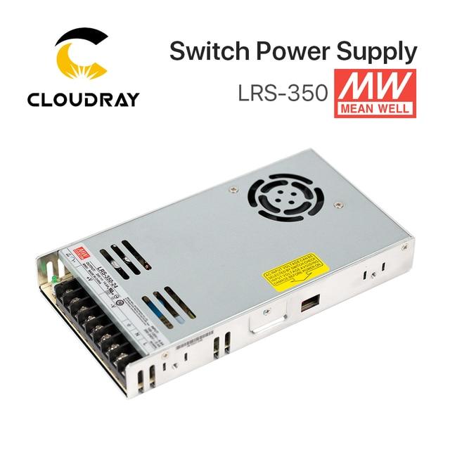 Meanwell alimentation électrique Meanwell LRS 350, 12V, 24V, 36V, 48V, 350W, MW, marque taïwanaise, LRS 350 24