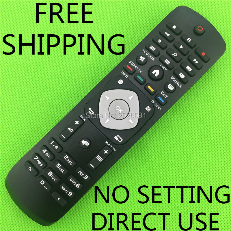 Free Shipping Remote Control For 65PFT6520 12 55PUT6800 98 65PUT6800 56 TV Remote Control