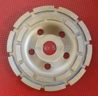 Free Shipping 1Pcs Diamond Grinder Cup Wheel 230mm Grinding Discs Tools For 9 Concrete Marble Granite
