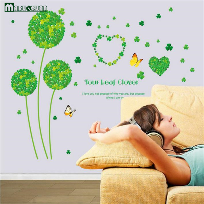 Large Removable Wholesale and Retail Bedroom Living Room TV Background  Decorative Wall Sticker Dandelion. Modern Furniture Retailers Promotion Shop for Promotional Modern