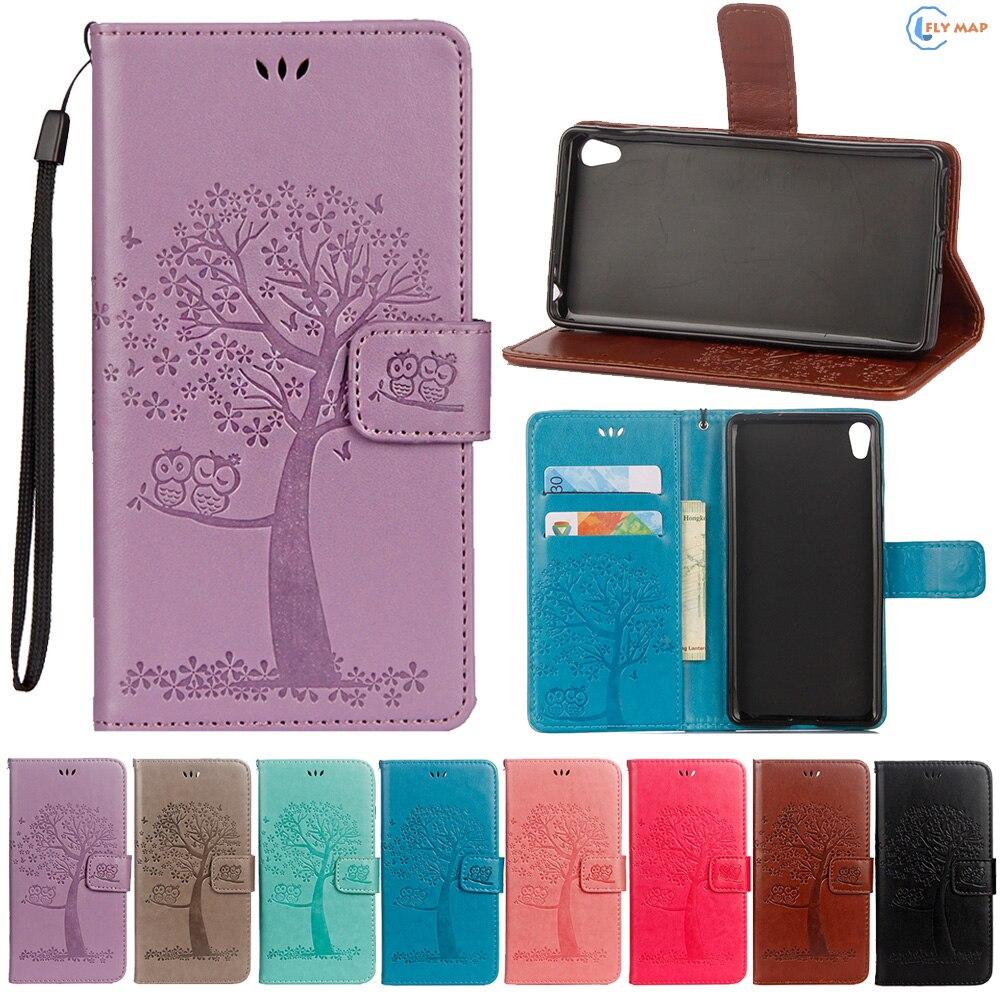 Flip Coque For Sony Xperia E5 Sony E5 LTE TPU Wallet Case