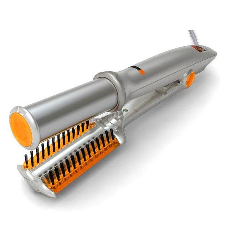 Shopify Dropshipping Haar Pinsel Schnelle Haarglätter Kamm Thermostat Keramik Elektrische Stange Spray Schriftrollen 2 Und 1 Heißer Verkauf