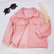 Buy Girls Pink Denim Jacket And Get Free Shipping On Aliexpress Com