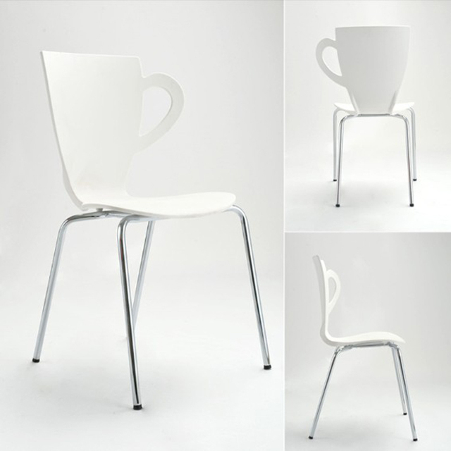 New ,fashion chair,metal dining chair,living room furniture,metal + plastic furniture,Colors chair,tea cup chair