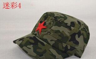 50 шт./партия Federal Express быстро в китайском стиле для женщин Мужская хлопковая Маскировочная шапка Регулируемая Повседневная бейсбольная кепка мягкая шапка - Цвет: 4