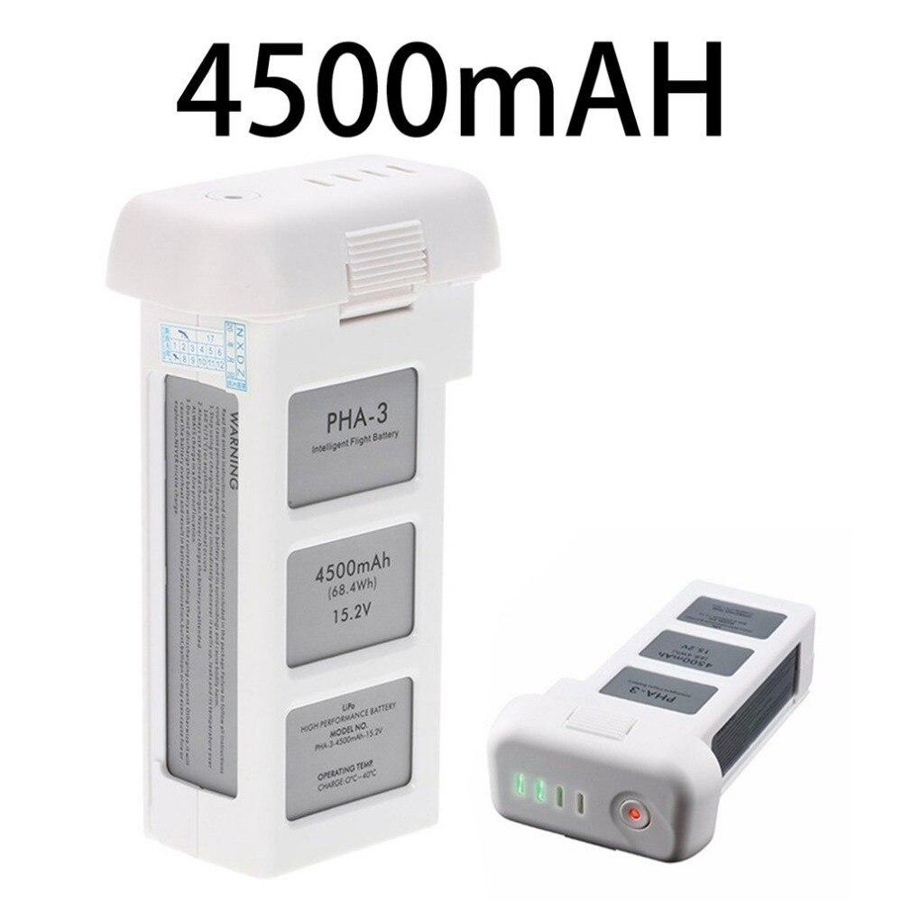15.2V 4500mAh Standard Intelligent LiPo Battery High Capacity Drone Battery For DJI Phantom 3 Standard Professional Advanced free shipping original dji tb47d battery 99 9wh 4500mah 22 2v for matrice 100 high performance