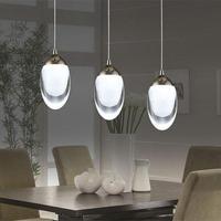 3 Light Led Pendant Light Fixture Led Lustres De Sala Modern Led Light Suspension Hanging Led Lamp For Dining Room, Bedroom