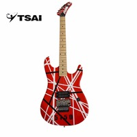Electric Guitar SY-F-001 Double Locking Tremolo 6 Strings High Quality Music Instrument Solid Wood Basswood Maple