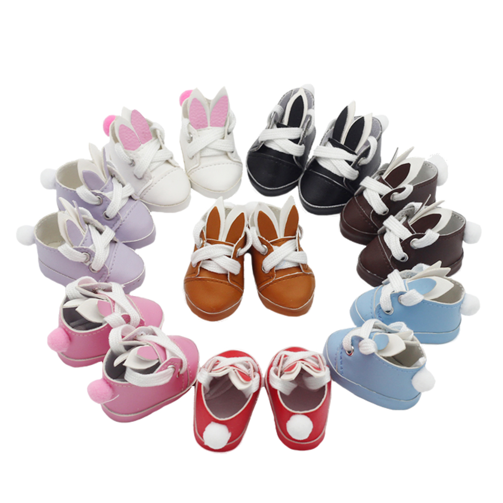 New Arrival 1pair Dolls Shoes For 14.5