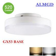 High Bright LED GX53 Lamp Light 5W 7W 9W GX53 Cabinet light bulb smd2835 gx 53 AC 220V 230V 240V warm white cold white spotlight