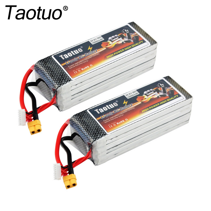 22.2V 30C 10000mAh RC Drone/Car Lipo Battery Rechargeable XT60 Plug Connector For RC Truck/Boat/Helicopter/Quadcopter Drone Toys