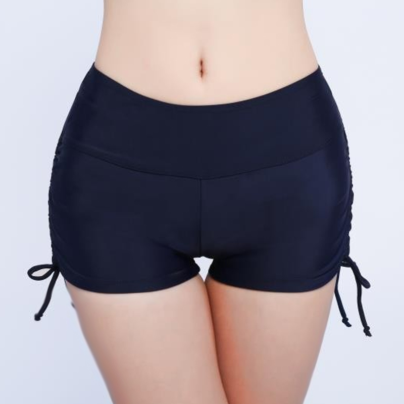 Fashion Women Yoga Running Shorts Workout Fitness Active Wicking Drawstring Shorts GM