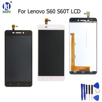 KEDY Compatible For Lenovo S60t S60a S60w S60 Full LCD Display Sensor Touch Screen Digitizer Assembly
