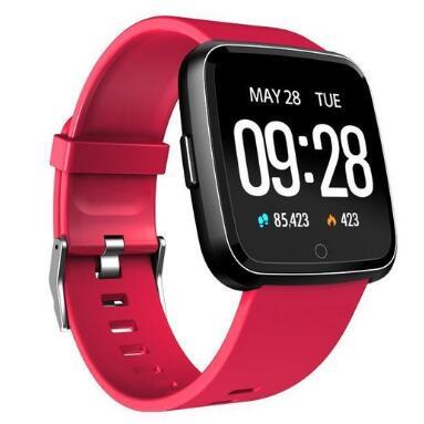 Smart watch Y7 pulsmätare smart armband fitness tracker smart - Smart electronics