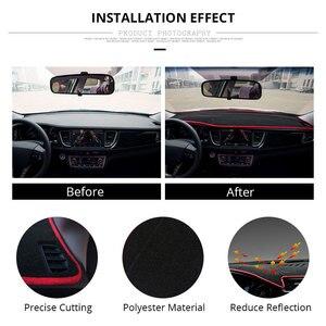 Image 5 - רכב לוח מחוונים כיסוי מחצלת להגן על כרית כיסוי רכב אביזרי עבור LHD פורד פוקוס 2 3 2017 2016 2015 2014 2013 2012 2011 2010 2009