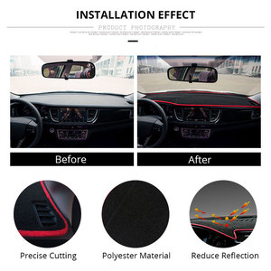 Image 5 - Car Dashboard Cover Mat Protect Pad Cover Car Accessories For LHD Ford Focus 2 3 2017 2016 2015 2014 2013 2012 2011 2010 2009