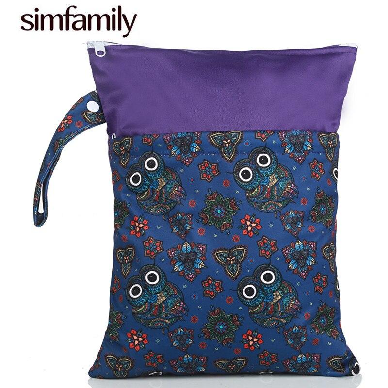 Многоразовая сумка [simfamily] для мокрых и сухих подгузников, 1 шт.